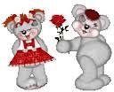 osos con flor