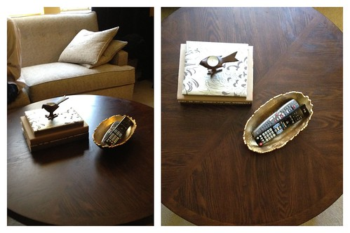 Coffee Table Styling Attempt 3