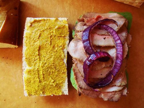 Roast Beef Sandwich: Innard
