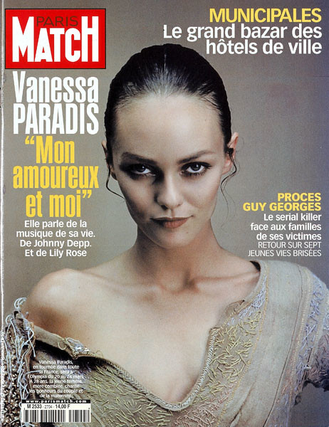couverture de paris match n 2704 vanessa paradis son amo flickr photo sharing. Black Bedroom Furniture Sets. Home Design Ideas