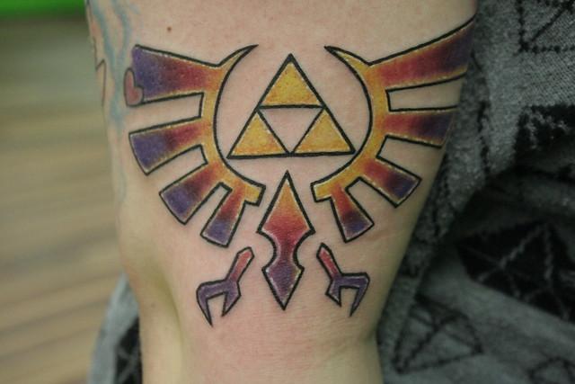 Tattoo designs uk men geek tattoos daily mail for Nerd tattoo designs