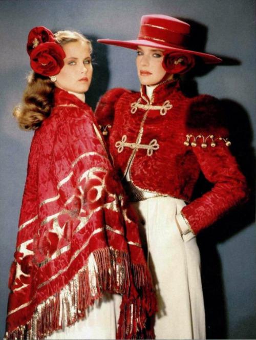 Dior by Frédéric Castet — Haute Fourrure Fall 1981