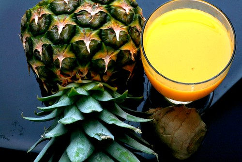 Pineapple ginger drink by {deepapraveen very busy with work..back soon