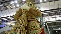 Yaksha Statue, Suvarnabhumi International Airport, Bangkok