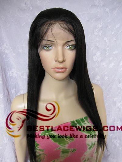 Gsw127 virgin remy full lace wigs yaki | Flickr - Photo ...