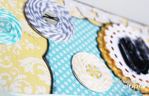 Summer Journal by Jennifer Priest for Tombow and Epiphany Crafts Lily Bee Hydrangea Hippo - detail 1