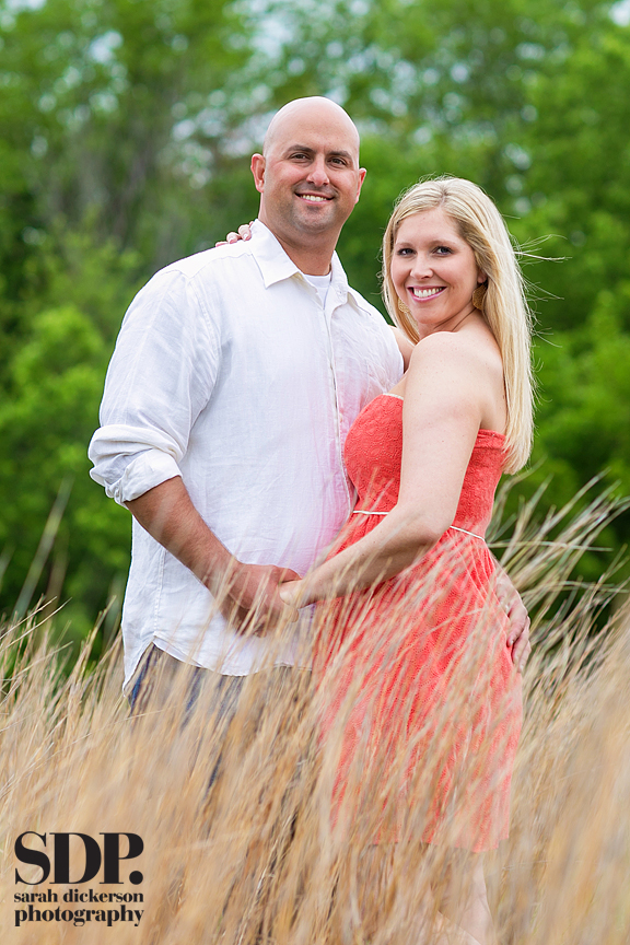 Olathe Kansas engagement session