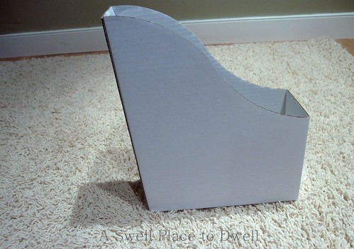 White Ikea Magazine File