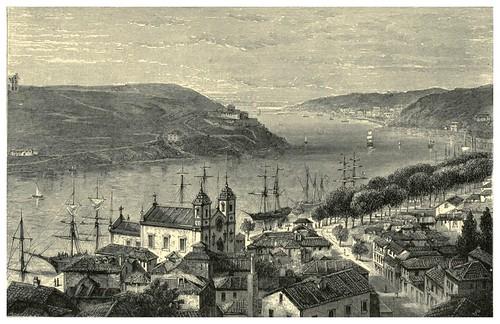 009-El Duero desde los altos de Oporto-Fair Lusitania -1874