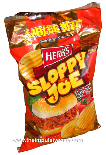 Herr's Sloppy Joe Potato Chips