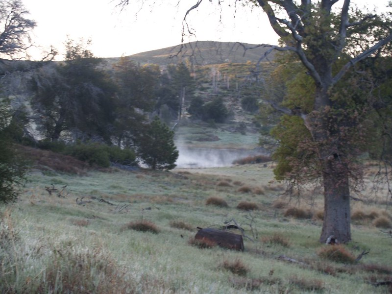 Steaming Pond alongside Mason Valley Road
