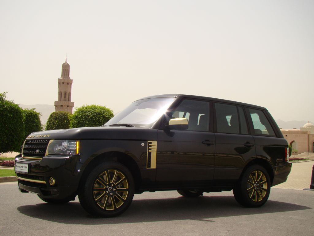 Range Rover | Gold Edition