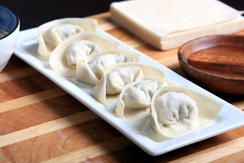 How to fold a wonton.