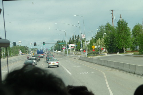 What's this? Traffic, what's traffic?! (Fairbanks, Alaska)