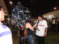 2-Entrevista vicepresidente ECUARUNARI en medios Rio Janeiro
