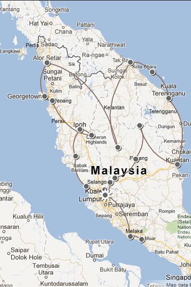 Six weeks in Malaysia