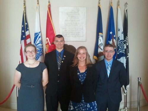 NSLC NSEC Wreath Laying Ceremony at Arlington