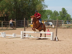 K and Calliope, working on a vertical