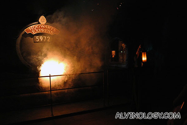 Smoking train to Hogwarts