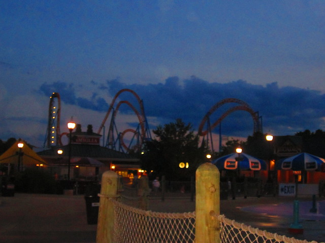 Hershey park pa fahrenheit roller coaster flickr photo sharing