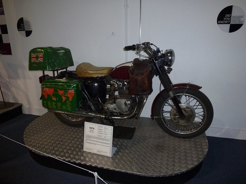 The original adventurer Ted Simon's Triumph