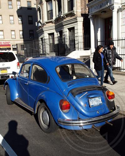 1973 Volkswagen Beetle Classic Car, New York City