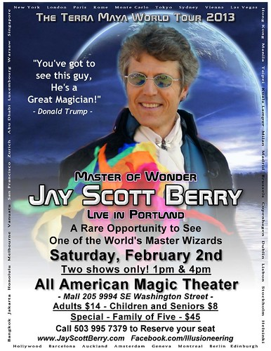 Jay Scott Berry @ All American Magic Theater