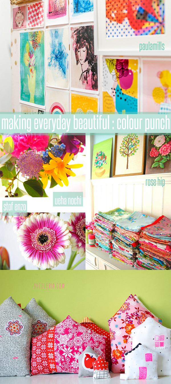 making everyday beautiful : colour punch | Emma Lamb
