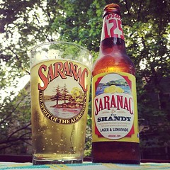 an after work shandy from @saranacbrewery #Saranac125