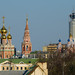 Roofs and domes of Moscow by Osdu