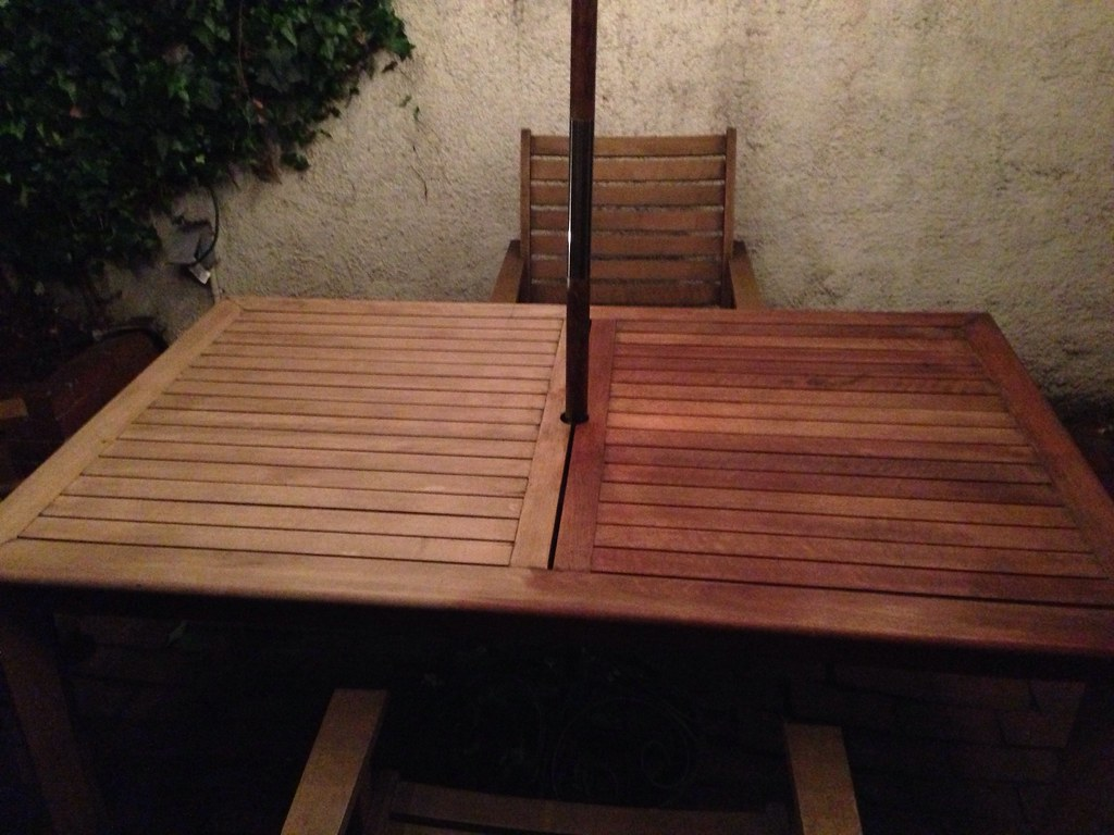 Garden Furniture Stain bringing teak outdoor furniture back from the brink - old town home