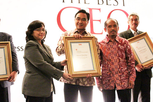 The Indonesia Future Business Leader 2013: Mohammad Iqbal Mirza.