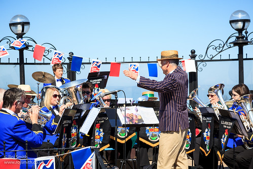 Llandudno Town Band doing what they do best!