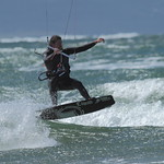 Kitesurfing on the Menai Straits