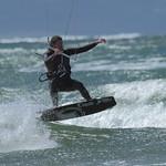 Kitesurfing on the Menai Straits