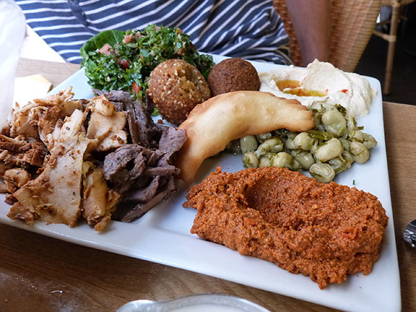 assiete dégustation, al Charq