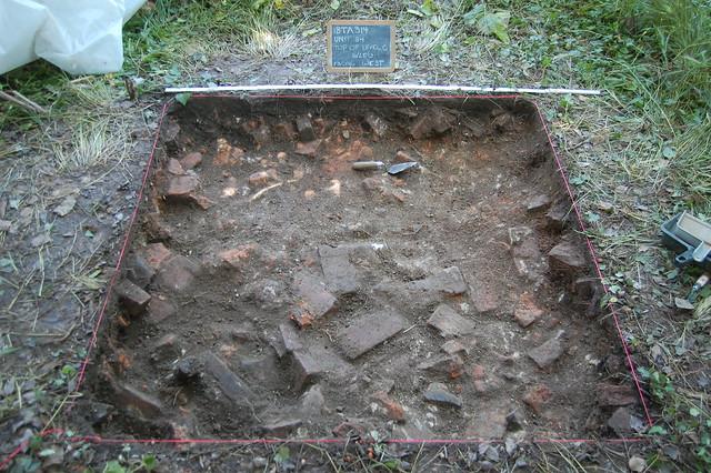 Unit 84 bricks at Wye House