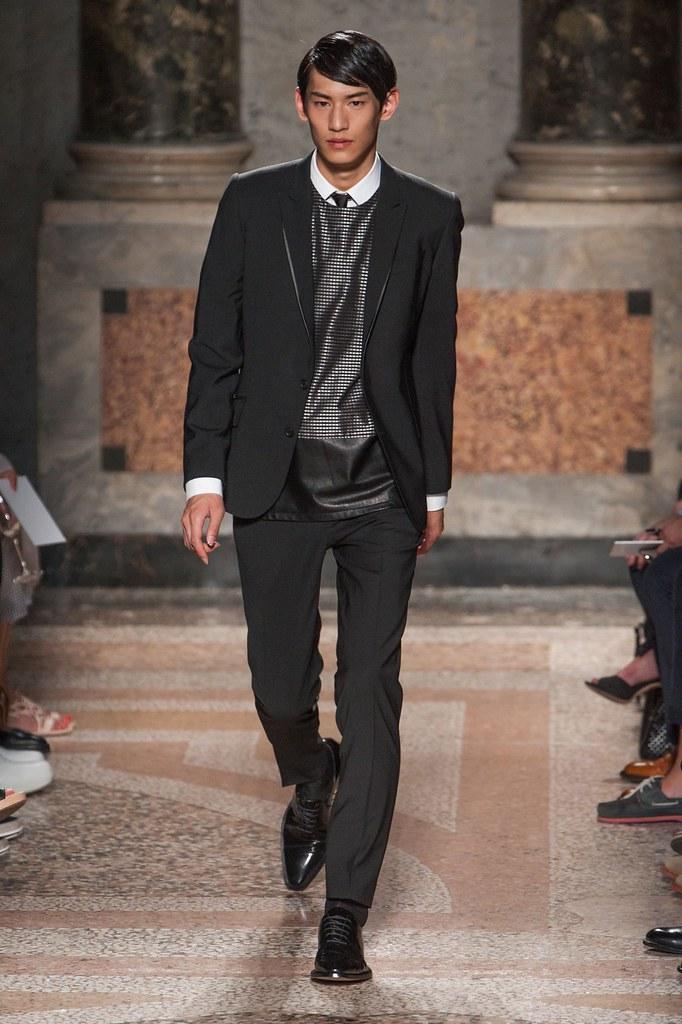SS14 Milan Les Hommes010_Kim Taehwan(fashionising.com)