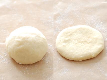 小羊面包矢量图