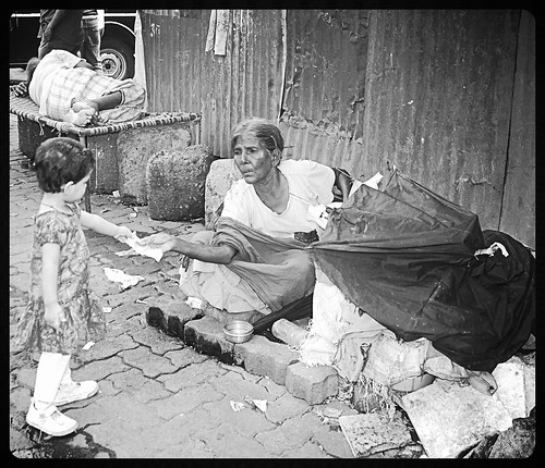 The Umbrella Lady Bandra Reclamation And Marziyas Tryst With Charity by firoze shakir photographerno1