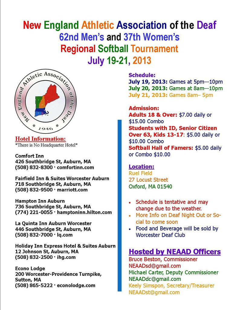 2013 NEAAD Regional Softball Tournament3