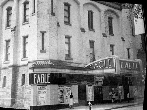 Eagle Movie theater Hudson ave  albany ny 1930s
