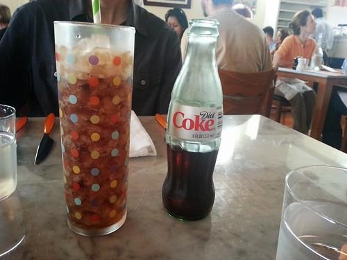 Diet Coke at Ciccio