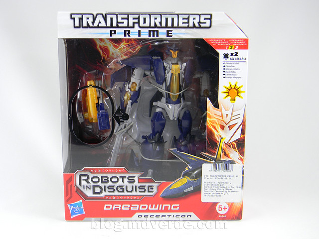 Transformers Dreadwing - Prime RID - caja