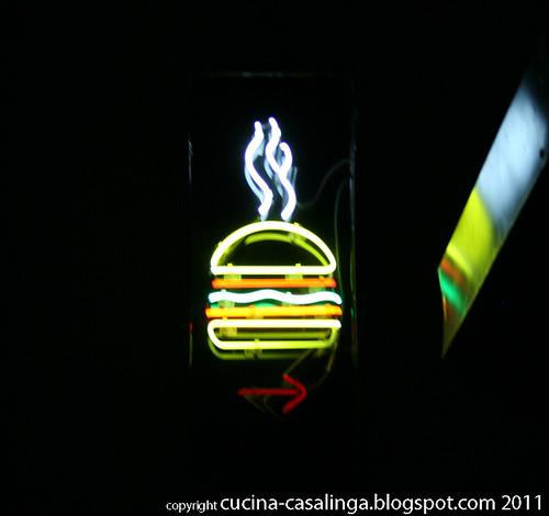 Burger-Zeichen Parker