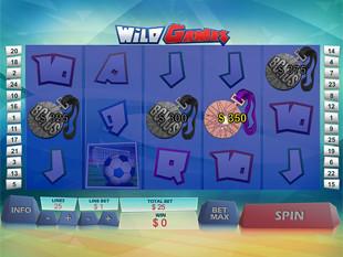 Wild Games Bonus Prize