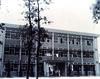 省立中興大學時期圖書館:56年圖書館在經費極度困難情形下,自籌經費並利用貸款 加建書庫頂樓,57年擴建成三樓