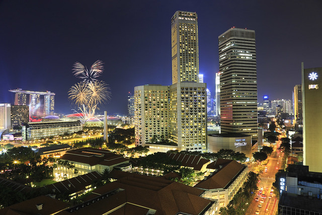 Singapore National Day Parade 2013 Fireworks