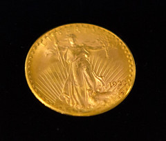 1933 Double Eagle at NYHS close-up