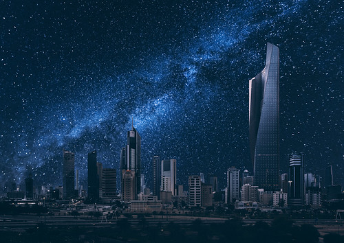 Kuwait City Under the Stars